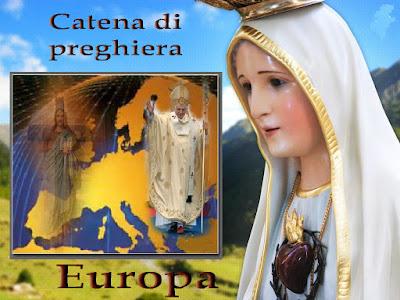 Catena di preghiera per proteggere l'Europa e per la pace del mondo, 13 Gennaio