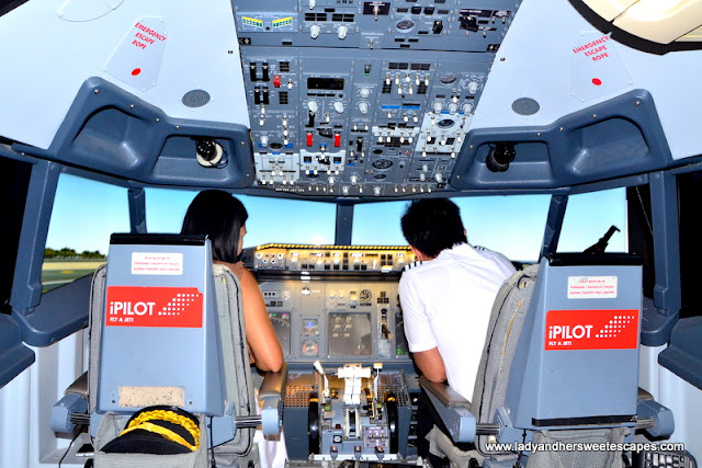 Flying at iPilot Dubai