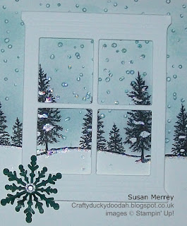 Stampin' Up! Made by Susan Simpson (Merrey) Independent Stampin' Up! Demonstrator, Craftyduckydoodah!, Happy Scenes, Home & Hearth Thinlets Dies,