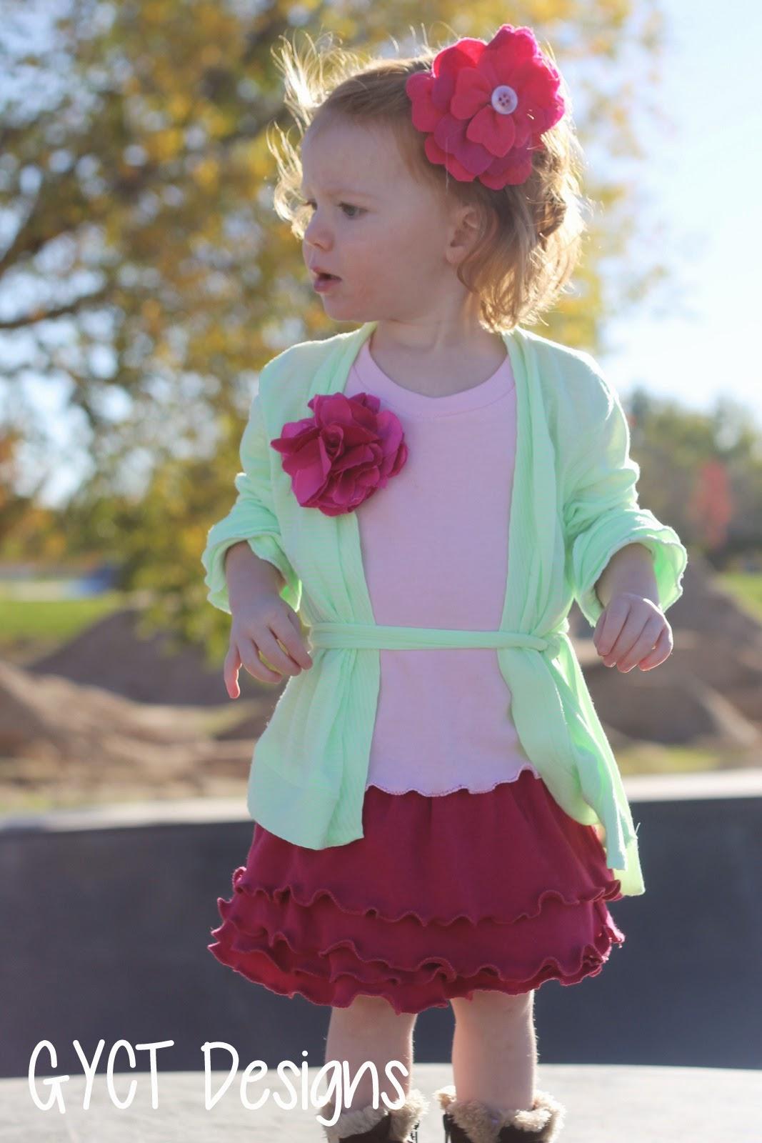 Effie Trinket Kids Look by GYCT Designs