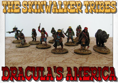 The Skinwalker Tribes for Dracula's America