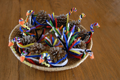 Pinecone Turkey for Musical Rest