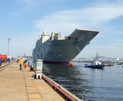30 Nisan 2016 tarihinde Sedef tersanesinde inşasına başlanan Tcg Anadolunun 2019 mayıs ayı içerisinde denize indirlip gerekli çalışmalar ile operasyonel kabiliyete ulaştıktan sonra 2021 yılında Türk Deniz Kuvvetlerine teslim edilmesi planlanmaktadır