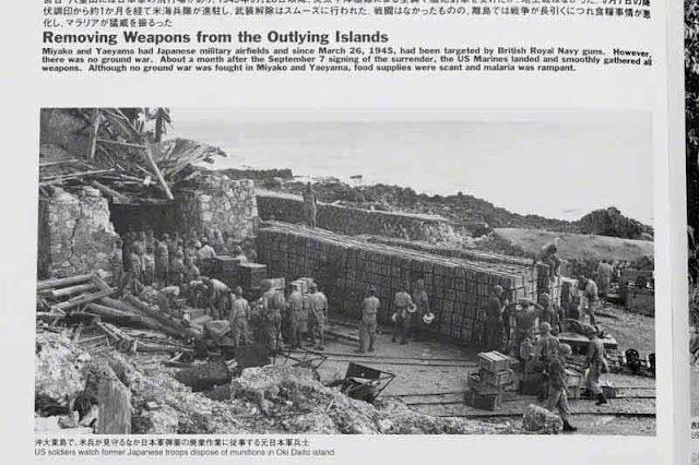 Disposal of munitions on outer Okinawa islands