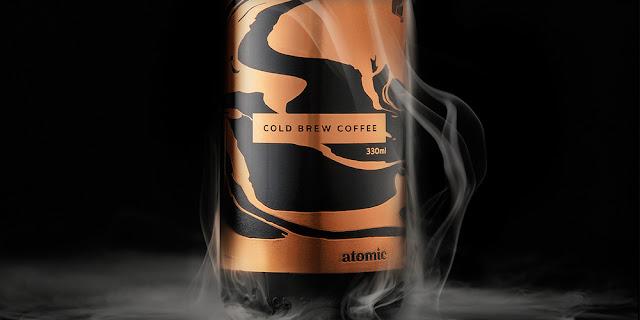 Bao bì đồ uống Coffee Cold Brew thiết kế bởi Fuman
