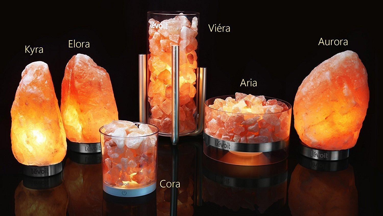 Mit Salzkristallen ein stilvolles Ambiente schaffen