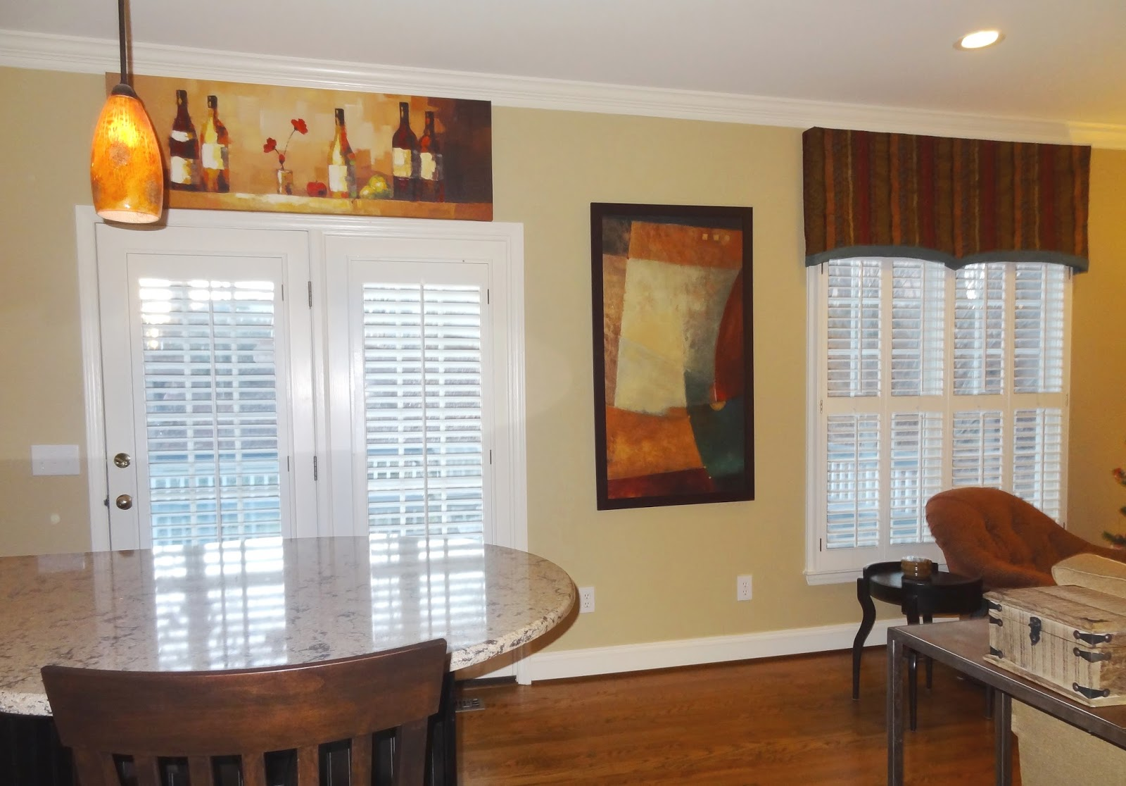 Window valance over shades or shutters can I use both? & Window valance over shades or shutters can I use both? - Interior ...