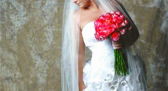 origem Buquê noiva