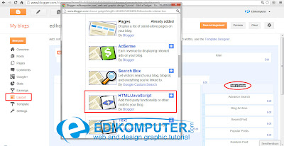 Cara Membuat Widget Twitter Update di Blogspot