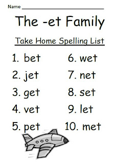 New 75 Word Family Lists Worksheets Family Worksheet