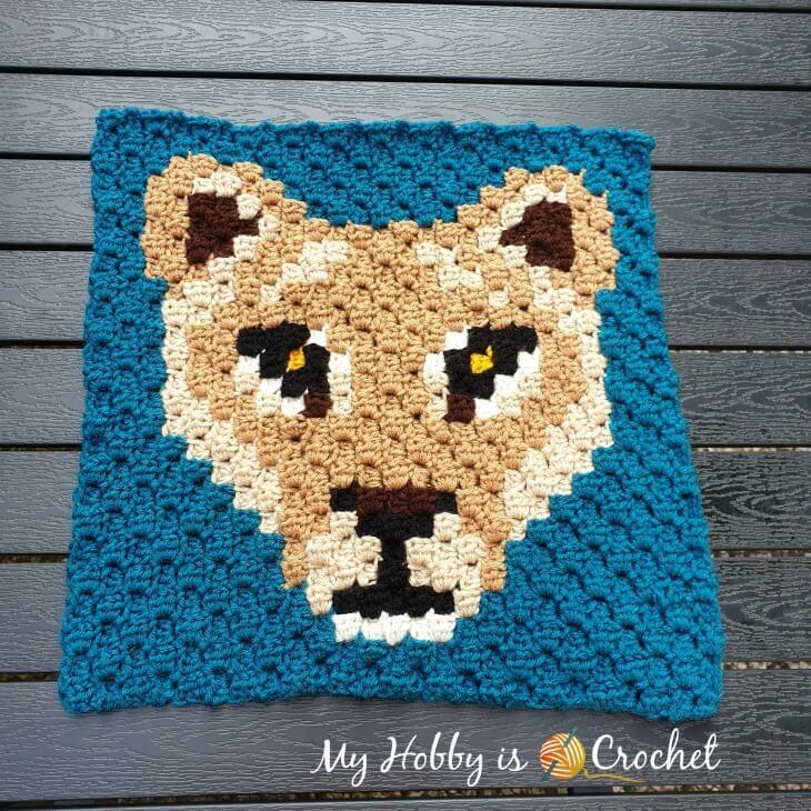 Lioness Lea C2C Square