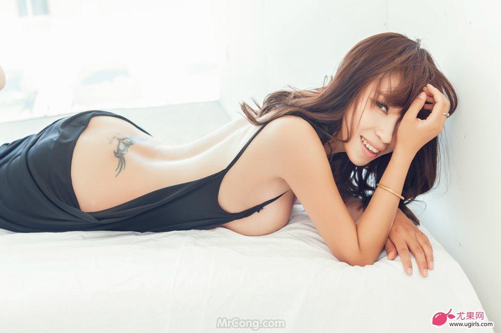Image MrCong.com-UGIRLS-020-Tian-Yi-Yi-007 in post Người đẹp Tian Yi Yi (田依依) khoe ngực trần sexy trong bộ ảnh UGIRLS 020