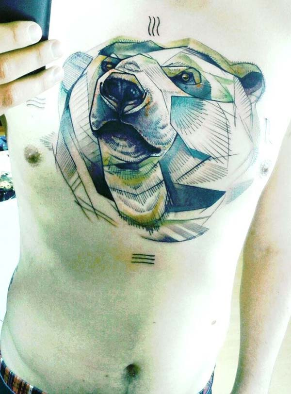 bear tattoo tumblr