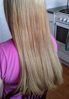 Wasze włosy u Mysi. Ewi w ciapki