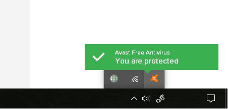 Nonaktifkan Avast