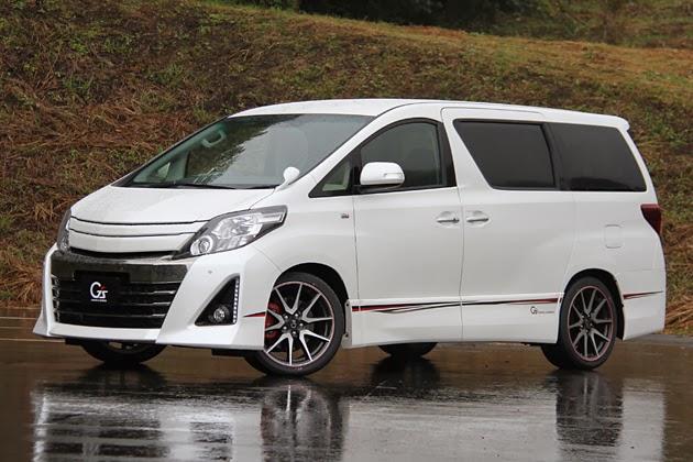 Gambargambar mobil Alphard Toyota Terbaru 2014 dengan