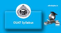 OUAT Assistant Professor Syllabus