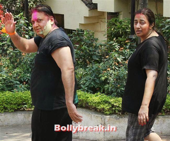 Shashi and Anu Ranjan, Sanjay Gupta Bollywood Holi Party Pics 2014