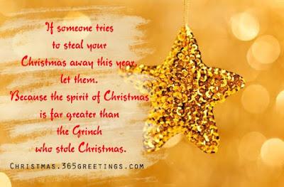 Christmas saying for cards