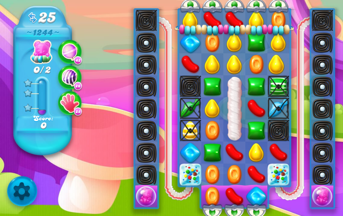 Candy Crush Soda Saga level 1244