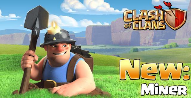 clash of clans, coc , miner