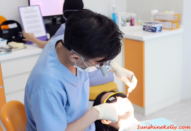 Scaling & Polishing Treatment Review, KL City Dentists, Menara HSC, dental care, dentist, lifestyle, Dr Mong Xeng Tien, dr mong dentist,