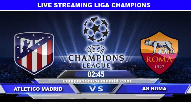 live streaming atletico madrid vs roma 23 november 2017