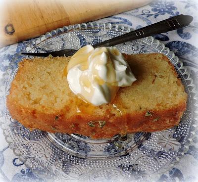 Thyme & Lemon Cake