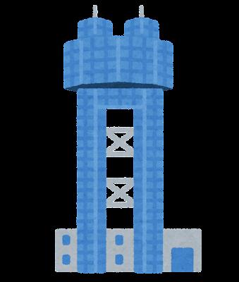 銚子ポートタワーのイラスト