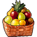 fruit basket icons