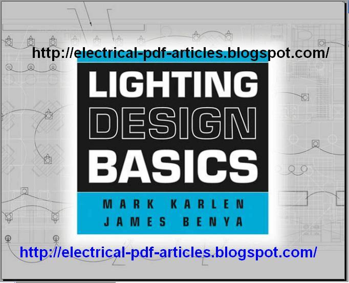 Electricalarticlespdf  Lighting Design Basics By Mark
