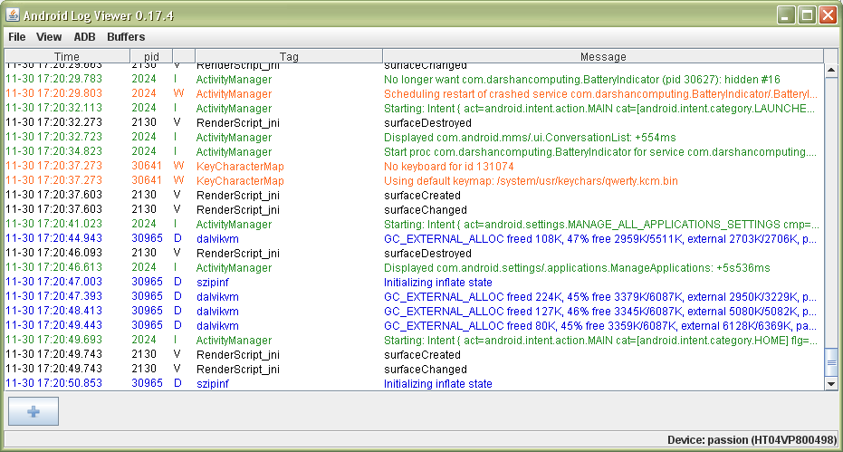 Android blog: Android LogCat filter in Eclipse