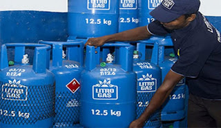 Price of 12.5 kg gas cylinder increased by Rs.158