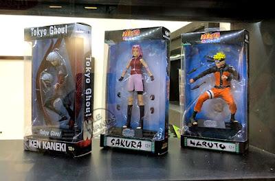 Toy Fair 2018 McFarlane Anime Tokyo Ghoul Ken Kaneki Naruto Sakura Action Figures 01
