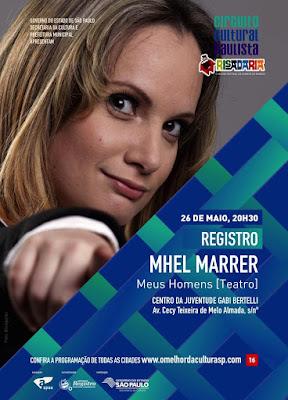 Humorista MhelMarrer apresentará espetáculo em Registro-SP