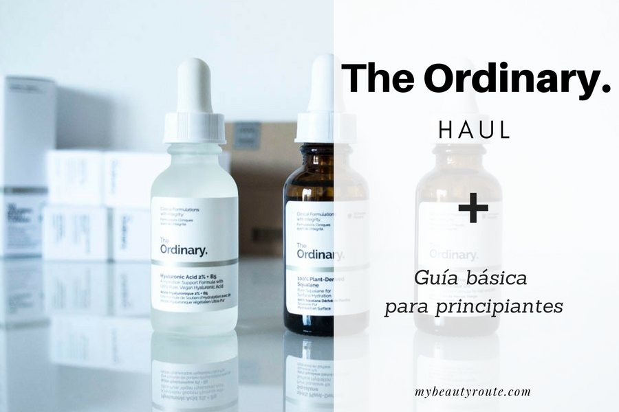 The ordinary haul + guía para principiantes