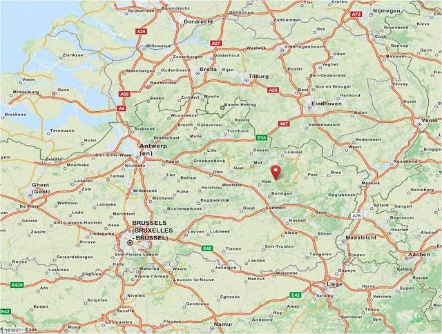 Kamp Beverlo is located in the northeastern part of Belgium