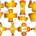 Pikachu: Cajas para Imprimir Gratis.