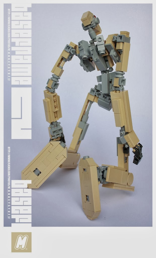 felix ip。蟻速畫行: Poseable LEGO Mech with Instructions