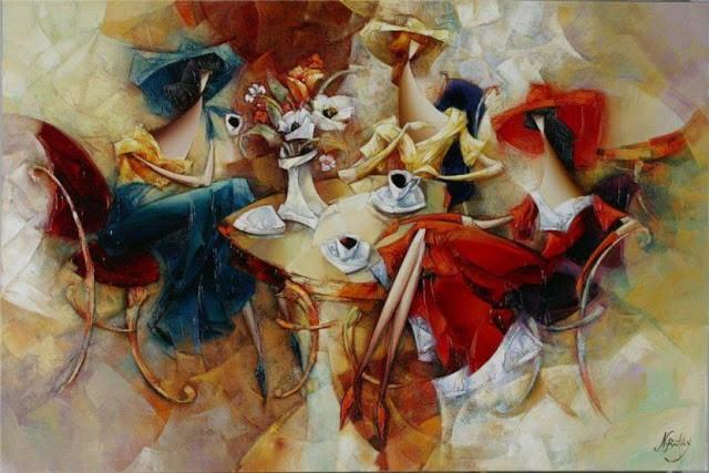 Израильский художник. Nathan Brutsky 19