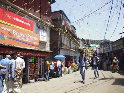 Itinerary dikota Shimla