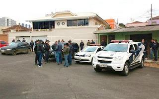 Guarda Municipal de Ponta Grossa (PR) apoia Polícias Civil e Militar em operação contra o tráfico