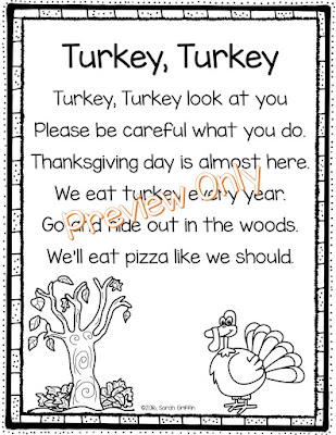 https://www.teacherspayteachers.com/Product/Turkey-Turkey-Thanksgiving-Poem-for-Kids-2860519