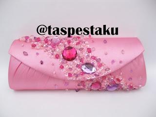 Tas Pesta Mewah Elegant Pink Ayu