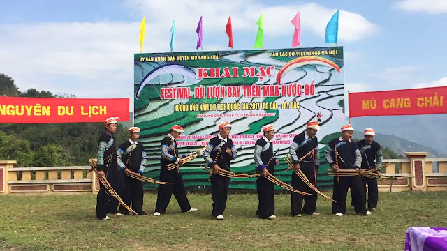 Opening Ceremony of Festival of Mu Cang Chai Terraces 1
