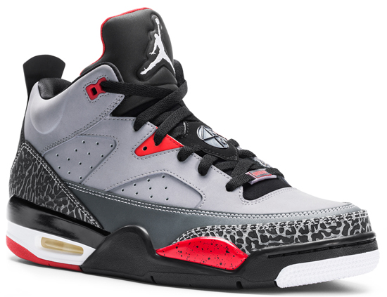 newest collection 9b64c 3c823 Coming in cement grey, black, fire red and white, this is the next Jordan  Son Of Mars Low set to release. They feature a cement grey based upper with  black, ...
