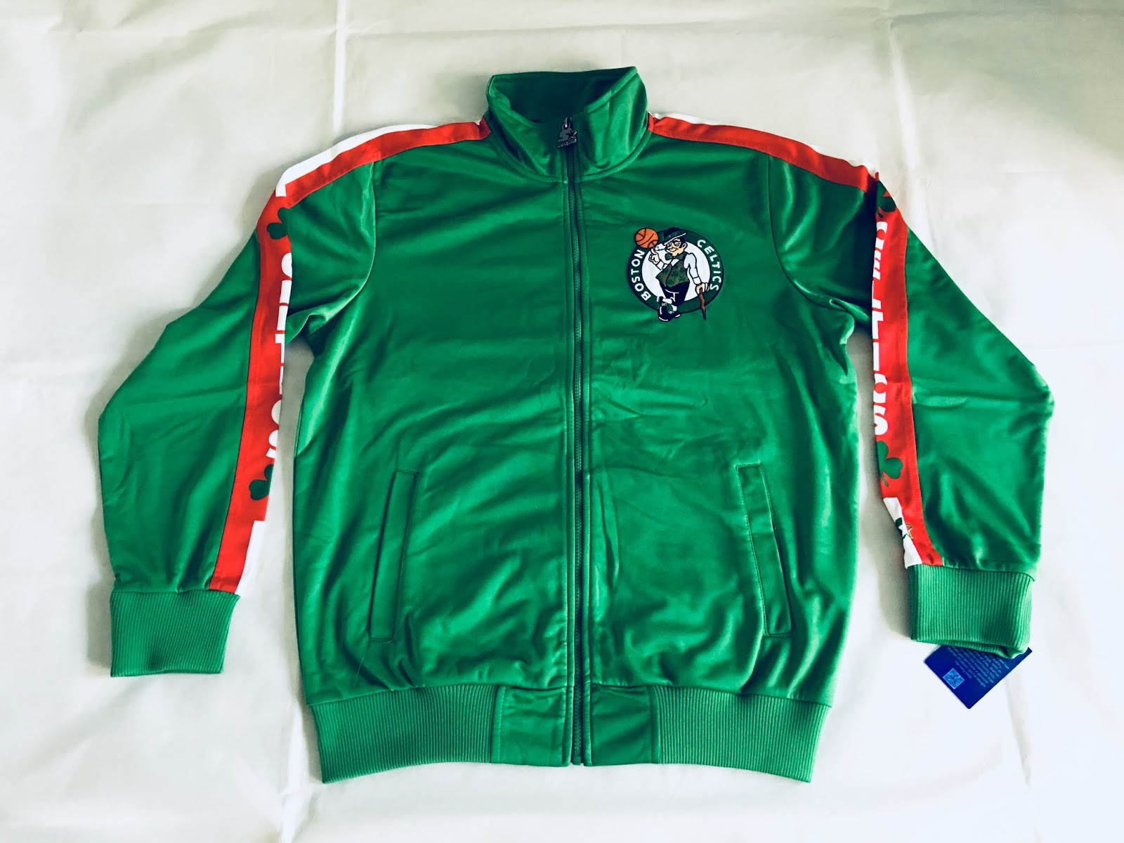 c82dc3c1ceb Starter Boston Celtics Exclusive Track Jacket