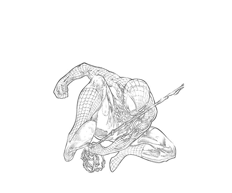 marvel ultimate spiderman coloring pages   Marvel Ultimate Alliance 2 Spider Man Superhero   Mario