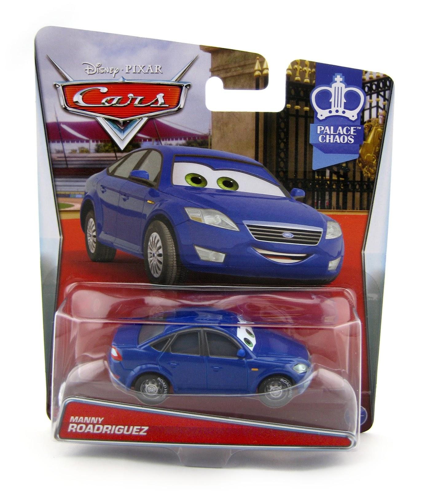 Dan The Pixar Fan: Cars 2: Manny Roadriguez