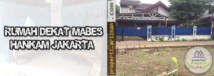 Dijual Rumah Dekat Mabes Hankam Jakarta